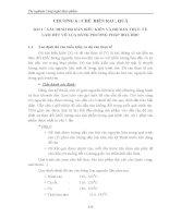 Giáo trình thí nghiệm công nghệ thực phẩm - Chương 6 - Bài 1 & 2 ppt
