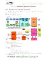 Kỹ thuật sửa chữa Điện thoại di động - SƠ ĐỒ KHỐI ĐIỆN THOẠI DI ĐỘNG pps