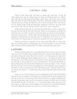 Giáo trình hóa sinh học - Chương 5 potx