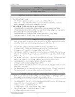 BÀI TẬP HÌNH HỌC 11 (CHƯƠNG 2) pot