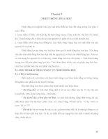 Giáo trình cơ sở lý thuyết hoá học - Chương 5 potx