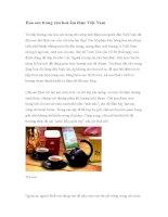 Hoa sen trong văn hoá ẩm thực Việt Nam ppt