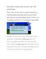 """Thủ thuật xóa phần mềm Antivirus """"giả"""" một cách dễ dàng potx"""