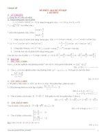 Bài tập toán 12 chuyên đề Số phức - đại số - tổ hợp pptx