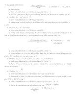 chuyên đề khảo sát hàm số 3