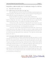 Bảo Quản Thực Phẩm - Kỹ Thuật Sấy Trong Nông Nghiệp phần 1 docx