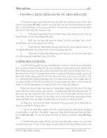Giáo trình hóa sinh học - Chương 3 ppsx