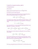 Lý thuyết của các phép đo từ sinh học ( phần 1 ) pdf