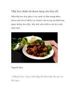 Thịt heo chiên tỏi thơm lừng cho bữa tối pdf