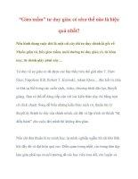 """""""Gieo mầm"""" tư duy giàu có như thế nào là hiệu quả nhất? pdf"""