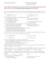12 đề thi thử vật lý 2010
