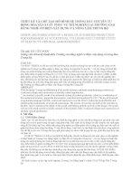 THIẾT KẾ VÀ CHẾ TẠO MÔ HÌNH HỆ THỐNG DÂY CHUYỀN TỰ ĐỘNG HÓA SẢN XUẤT docx