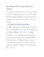 Đưa không khí Noel vào màn hình chờ của Windows ppsx