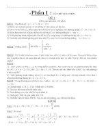Tổng hợp các đề thi thử môn toán hay và khó ppt