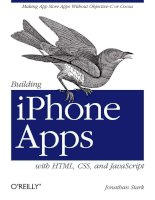 Building iPhone Apps with HTML, CSS, and JavaScript pps