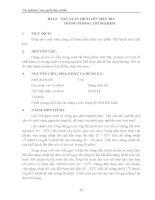 Giáo trình thí nghiệm công nghệ thực phẩm - Chương 2 - Bài 2 , 3 & 4 potx
