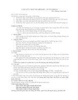 CẤP CỨU NGỪNG HÔ HẤP - TUẦN HOÀN ppsx