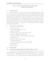 Giáo trình thí nghiệm công nghệ thực phẩm - Chương 2 - Bài 5 & 6 doc