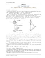 Bài giảng nguyên lý máy - Chương 1 potx