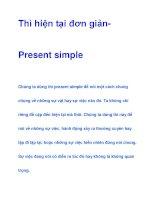 Thì hiện tại đơn giản- Present simple pdf