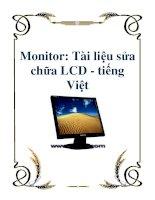 Monitor: Tài liệu sửa chữa LCD tiếng Việt pps