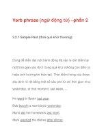 Verb phrase (ngữ động từ) –phần 2 pot