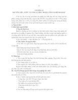 CHƯƠNG II- NGUYÊN LIỆU, NƯỚC VÀ NĂNG LƯỢNG TRONG CÔNG NGHỆ HOÁ HỌC potx