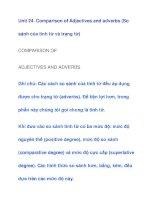 Unit 24. Comparison of Adjectives doc