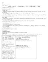 Giáo án địa lí 12 bài 10 - Thiên nhiên nhiệt đới ẩm gió mùa ppt