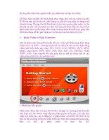 Bộ ba phần mềm bản quyền miễn phí dành cho các tập tin media docx