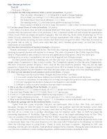 Đề tham luyện thi đại học môn Tiếng Anh - Đề số 30 ppt