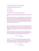 Lý thuyết của các phép đo từ sinh học ( phần 5 ) ppsx