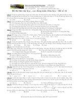 VẬT LÝ 12 THI THỬ ĐẠI HỌC (ĐỀ SỐ 02) ppt