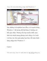 Thay đổi màn hình đăng nhập trên Windows 7 ppsx