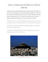Athens và những công trình kiến trúc vĩ đại của nhân loại docx