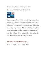 20 tính năng Windows không thể thiếu ppsx