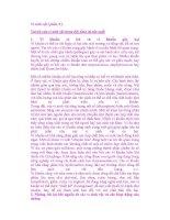 Vi sinh vật ( phần 9 ) Vai trò của vi sinh vật trong đời sống và sản xuất potx