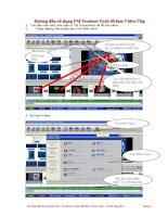 Hướng dẫn thực hành làm Video Clip