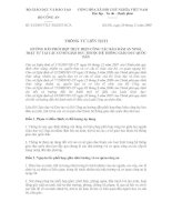 TTLT HƯỚNG DẪN PHỐI HỢP THỰC HIỆN CÔNG TÁC BẢO ĐẢM AN NINH, TRẬT TỰ TẠI CÁC CƠ SỞ GD THUỘC HỆ THỐNG GD QD