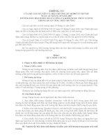 THÔNG TƯ CỦA BỘ TÀI NGUYÊN VÀ MÔI TRƯỜNG SỐ 10/2007/TT-BTNMT pptx