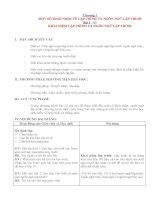 Giáo án tin học 11 - Bộ 1