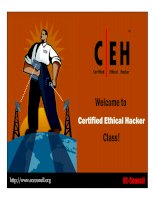 welcome to certified ethical hacker class doc