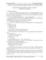 Chương 2: Xây dựng mặt đường cấp phối thiên pptx