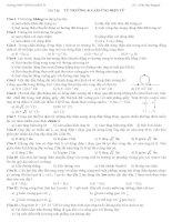 Bài tập từ trường, cảm ứng điện từ -THPT Thống Nhất B pdf