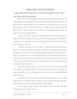 Sáng Kiến Kinh Nghiệm Phương Pháp Giải Bài Toán Mạch Điện Một Chiều Lớp 9 doc