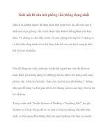 Giải mã 10 câu hỏi phỏng vấn thông dụng nhất potx