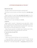 Bài giảng tim mạch - XỬ TRÍ CẤP CỨU NHỒI MÁU CƠ TIM CẤP pot