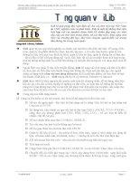 Hướng dẫn sử dụng phần mềm quản trị thư viện tích hợp iLib pdf