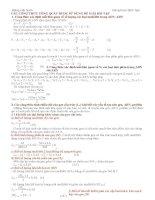 Công thức giải các bài toán trắc nghiệm sinh học pot
