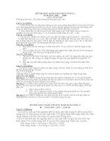 ĐỀ THI VÀ ĐÁP ÁN HSG VÒNG 2 THCS (07-08)